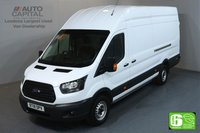 USED 2018 18 FORD TRANSIT 2.0 350 L4 H3 EXTRA LWB JUMBO 104 BHP EURO 6 MANUFACTURER WARRANTY UNTIL 25/06/2021