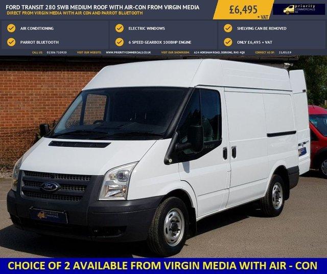 61 Ford Transit 280 Swb: 2013 Ford Transit 280 £6,495