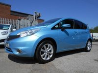 USED 2014 63 NISSAN NOTE 1.2 ACENTA PREMIUM DIG-S 5d 98 BHP LOVELY CAR ZERO ROAD TAX