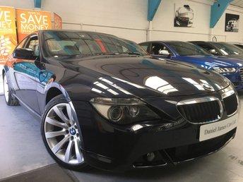 2006 BMW 6 SERIES 3.0 630I SPORT 2d AUTO 255 BHP £9490.00