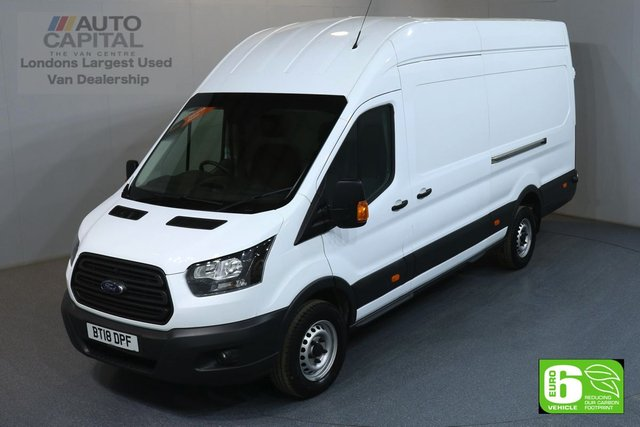 2018 18 FORD TRANSIT 2.0 350 L4 H3 EXTRA LWB JUMBO 104 BHP EURO 6 MANUFACTURER WARRANTY UNTIL 02/07/2021