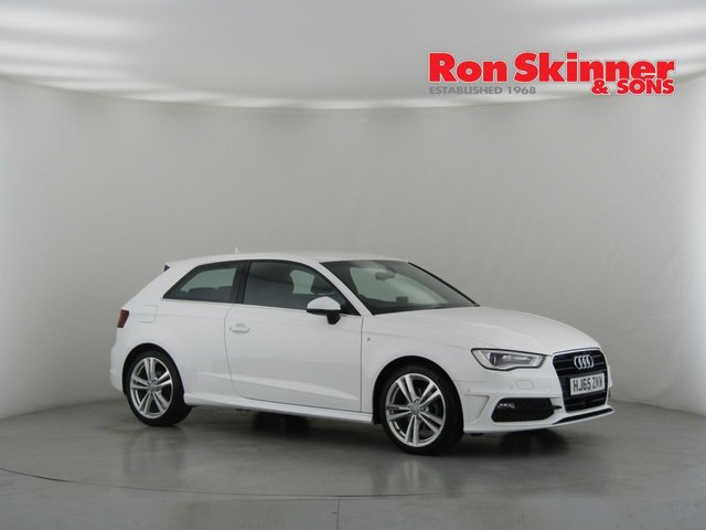 View our 2015 65 AUDI A3 1.4 TFSI S LINE 3d 148 BHP