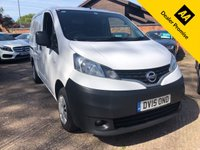 USED 2015 15 NISSAN NV200 1.5 DCI ACENTA  One company owner, Full Nissan history.