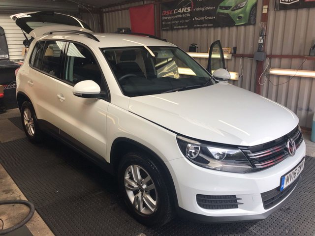2016 16 VOLKSWAGEN TIGUAN 2.0 S TDI BLUEMOTION TECHNOLOGY 5d 109 BHP