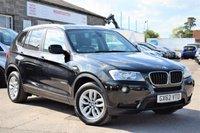 2012 BMW X3 2.0 XDRIVE20D SE 5d AUTO 181 BHP £12275.00