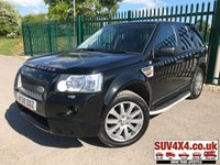 USED 2008 58 LAND ROVER FREELANDER 2.2 TD4 HST 5d AUTO 159 BHP ALLOYS SATNAV PRIVACY CRUISE LEATHER SUNROOF A/C MOT 09/19 4WD. SUNROOF. SATELLITE NAVIGATION. STUNNING BLACK MET WITH FULL BLACK LEATHER TRIM. ELECTRIC HEATED SEATS. CRUISE CONTROL. SIDE STEPS. 19 INCH ALLOYS. COLOUR CODED TRIMS. PRIVACY GLASS. PARKING SENSORS. BLUETOOTH PREP. CLIMATE CONTROL. TRIP COMPUTER. R/CD/MP3 PLAYER. MFSW. MOT 09/19. SERVICE HISTORY. AGE/MILEAGE RELATED SALE. SUV & 4X4 CAR CENTRE LS23 7FR. TEL 01937 849492 OPTION 2