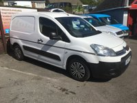 USED 2012 12 CITROEN BERLINGO 1.6 625 LX L1 HDI 1d 89 BHP NO VAT !! ONLY 50,000 MILES, ELECTRIC WINDOWS, PLY LINED