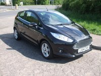 USED 2014 14 FORD FIESTA 1.0 EcoBoost Zetec Petrol 3 door £0 road tax. Bluetooth.