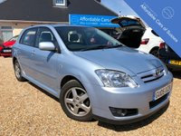 USED 2005 05 TOYOTA COROLLA 1.6 T3 VVT-I 5d 109 BHP 1 Owner from New, Under 60K, Service History
