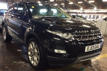 """2013 LAND ROVER RANGE ROVER EVOQUE 2.2 SD4 PURE TECH 3d AUTO 190 BHP TECH PACK NAVIGATION CRUISE BLUETOOTH DAB PDC PANORAMIC SUNROOF 20"""" SPORT ALLOYS £14990.00"""