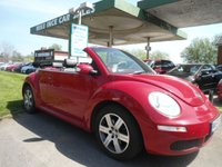 USED 2007 VOLKSWAGEN BEETLE 1.6 LUNA 8V 2d 101 BHP ONE FORMER KEEPER