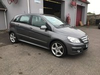 USED 2011 11 MERCEDES-BENZ B CLASS 2.0 B180 CDI SPORT 5d AUTO 109 BHP HALF LEATHER, AIR CONDITIONED, LOW MILEAGE, DIESEL AUTOMATIC