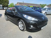 USED 2013 13 PEUGEOT 207 1.6 CC ACTIVE 2DR CABRIOLET FULL PEUGEOT SERVICE HISTORY CABRIOLET