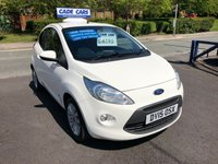 USED 2015 15 FORD KA 1.2 ZETEC 3d 69 BHP Buy with confidence from a garage that has been established  for 26 years.