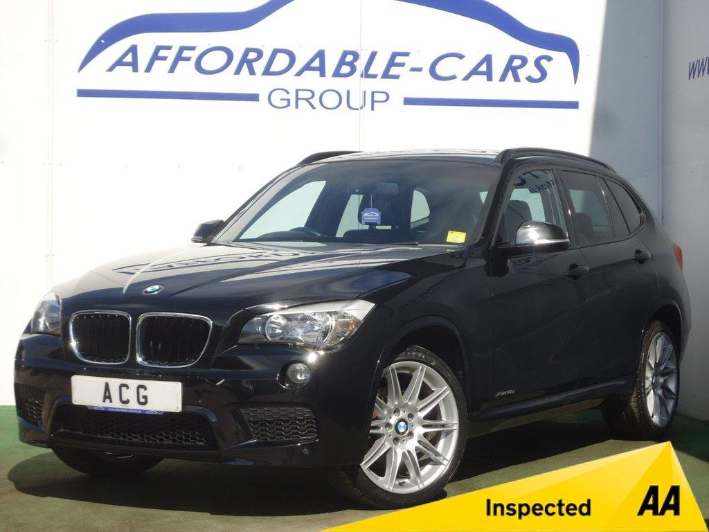 USED 2013 13 BMW X1 2.0 XDRIVE18D M SPORT 5d 141 BHP
