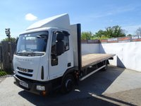 USED 2013 63 IVECO EUROCARGO 3.9 75E16K TIPPER 1d AUTO 160 BHP IVECO EUROCARGO FLAT BED ALL SEVICE HISTORY AND TICKETS