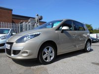 USED 2010 10 RENAULT SCENIC 1.6 DYNAMIQUE TOMTOM VVT 5d 109 BHP SAT NAV ALLOY WHEELS