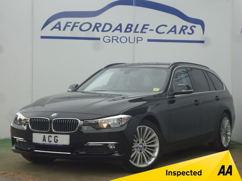 USED 2013 13 BMW 3 SERIES 2.0 320D LUXURY TOURING 5d 181 BHP