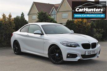 2015 BMW 2 SERIES 2.0 218D M SPORT 2d 148 BHP £14195.00