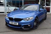 2015 BMW 4 SERIES 2.0 420D M SPORT 2d AUTO 188 BHP £18690.00
