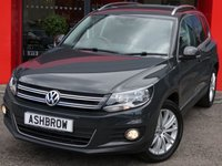 USED 2016 16 VOLKSWAGEN TIGUAN 2.0 TDI MATCH EDITION BMT 5d 150 S/S SAT NAV, KEYLESS ENTRY & START, FRONT & REAR PARKING SENSORS WITH DISPLAY, PARK ASSIST WITH AUTOMATIC STEERING, DAB RADIO, BLUETOOTH PHONE & MUSIC STREAMING, 18 INCH 10 SPOKE ALLOYS, CRUISE CONTROL, AUX & USB INPUTS, AUTO HILL HOLD, LIGHT & RAIN SENSORS WITH AUTO DIMMING REAR VIEW MIRROR, LEATHER MULTIFUNCTION STEERING WHEEL, FRONT CENTRE ARM REST, DUAL CLIMATE AIR CONDITIONING, TYRE PRESSURE MONITORING SYSTEM, ILLUMINATING VANITY MIRRORS, 1 OWNER FROM NEW, SERVICE HISTORY, VAT QUALIFYING
