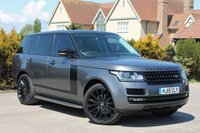 USED 2015 15 LAND ROVER RANGE ROVER 3.0 TDV6 AUTOBIOGRAPHY 5d AUTO 255 BHP
