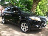 2011 FORD KUGA 2.0 TITANIUM TDCI AWD 5d 163 BHP 12 MONTHS MOT FREE WARRANTY £6850.00