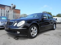 USED 2003 G MERCEDES-BENZ E CLASS 3.2 E320 AVANTGARDE 4d AUTO 224 BHP LOVELY EXAMPLE MOT MAY 2020