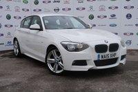 2015 BMW 1 SERIES 2.0 125D M SPORT 5d 215 BHP £12495.00