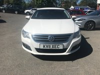 USED 2011 11 VOLKSWAGEN PASSAT 2.0 CC GT TDI BLUEMOTION TECHNOLOGY 4 DOOR 168 BHP IN WHITE WITH A FULL BROWN UPGRADED LEATHER INTERIOR. APPROVED CARS AND FINANCE ARE PLEASED TO OFFER THIS VOLKSWAGEN PASSAT 2.0 CC GT TDI BLUEMOTION TECHNOLOGY 4 DOOR 168 BHP IN METALLIC WHITE WITH A FULL SERVICE HISTORY AND 92,000 MILES. THIS VEHICLE HAS GOT A GREAT SPEC SUCH AS BLUETOOTH, AUX, FULL LEATHER SEATS IN TAN LEATHER, ELECTRIC WINDOWS, ELECTRIC HANDBRAKE AND MUCH MORE. NOT A VEHICLE TO BE MISSED VERY NICE SALOON VEHICLE WITH A BEAUTIFUL TAN LEATHER INTERIOR