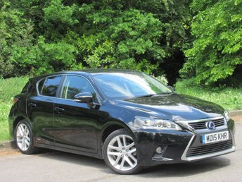 2015 LEXUS CT 1.8 200H ADVANCE 5d AUTO 134 BHP £12000.00