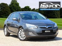 USED 2012 12 VAUXHALL ASTRA 1.7 ACTIVE CDTI 5d 108 BHP
