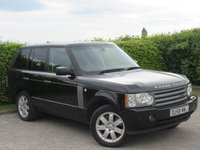 USED 2008 58 LAND ROVER RANGE ROVER 3.6 TDV8 VOGUE 5d AUTO 272 BHP * AUTOMATIC * FOUR WHEEL DRIVE * ALL TERRAIN RESPONSE PROGRAMMES* CRUISE CONTROL*