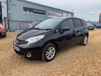2014 NISSAN NOTE 1.2 ACENTA 5d 80 BHP £5790.00