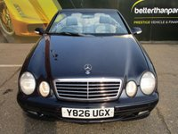 USED 2001 Y MERCEDES-BENZ CLK 3.2 CLK320 AVANTGARDE 2d AUTOMATIC CONVERTIBLE 218 BHP Part exchange to clear