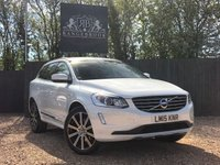 USED 2015 15 VOLVO XC60 2.0 D4 SE LUX NAV 5dr AUTO  1 Year Parts & Labour Warranty