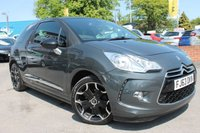 USED 2013 63 CITROEN DS3 1.6 E-HDI DSTYLE PLUS 3d 90 BHP FULL SERVICE HISTORY - ALLOY WHEELS - FREE ROAD TAX - MASSIVE MPG