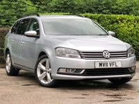 2011 VOLKSWAGEN PASSAT 2.0 SE TDI BLUEMOTION TECHNOLOGY 5d 139 BHP £7295.00