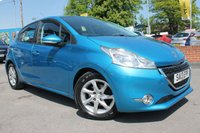 USED 2013 13 PEUGEOT 208 1.2 ACTIVE 5d 82 BHP STUNNING COLOUR - 2 OWNER - COLOUR TOUCH SCREEN - BEAUTIFUL EXAMPLE AND EXTRA GOOD VALUE FOR MONEY 2013 MODEL
