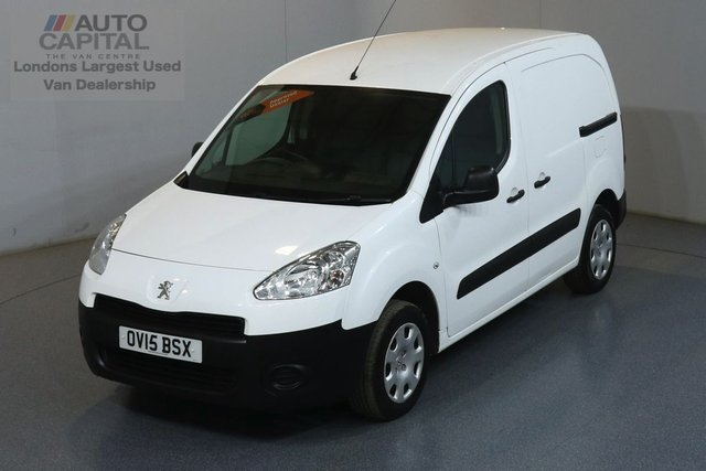 2015 15 PEUGEOT PARTNER 1.6 HDI PROFESSIONAL 850 SWB 89 BHP  AIR CONDITION, ONE OWNER