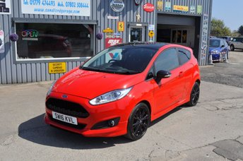 2016 FORD FIESTA 1.0 ZETEC S RED EDITION 3d 139 BHP   21K £9500.00