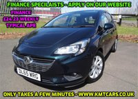 USED 2015 65 VAUXHALL CORSA 1.2 DESIGN 5d 69 BHP 3 Months National Warranty - Excellent MOT until December 2019