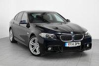 2014 BMW 5 SERIES 3.0 535D M SPORT 4d AUTO 309 BHP £15992.00
