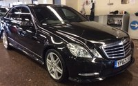 USED 2012 62 MERCEDES-BENZ E CLASS 3.0 E350 CDI BLUEEFFICIENCY S/S SPORT 4d AUTO 265 COMAND NAVIGATION PANORAMIC SUNROOF FULL HEATED LEATHER 18