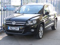 2013 VOLKSWAGEN TIGUAN 2.0 SE TDI BLUEMOTION TECHNOLOGY 4MOTION DSG Sat nav £10695.00