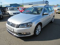 2014 VOLKSWAGEN PASSAT 2.0 EXECUTIVE TDI BLUEMOTION TECHNOLOGY 5d 139 BHP £9995.00