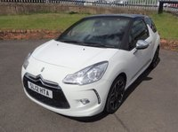 USED 2012 12 CITROEN DS3 1.6 E-HDI AIRDREAM DSPORT PLUS 3d 111 BHP 3 Months National Warranty - MOT'd 1 Year for its New Owner