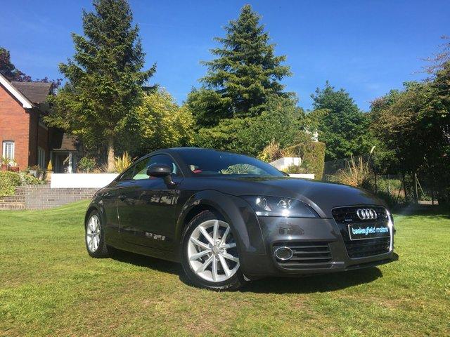 USED 2012 12 AUDI TT 2.0 TDI QUATTRO SPORT 2d AUTO 168 BHP