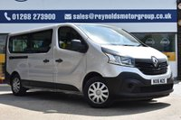 USED 2016 16 RENAULT TRAFIC 1.6 LL29 BUSINESS ENERGY DCI 5d 125 BHP NO DEPOSIT FINANCE AVAILABLE