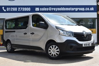 2016 RENAULT TRAFIC 1.6 LL29 BUSINESS ENERGY DCI 5d 125 BHP £12999.00